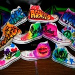 Airbrush Shoes Collage